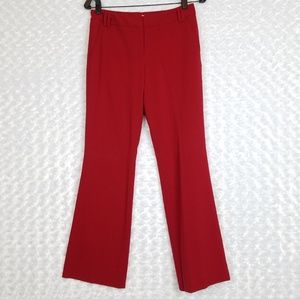 New York and Company Red Trouser Pants